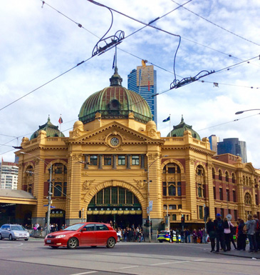 australian city melbourne locations