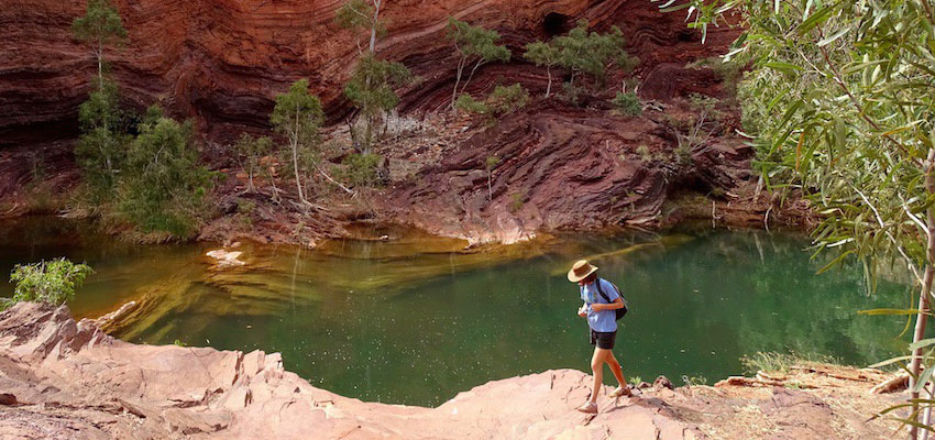 filming in australian national parks